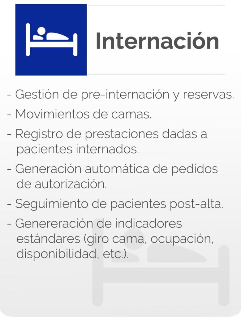 Internacion